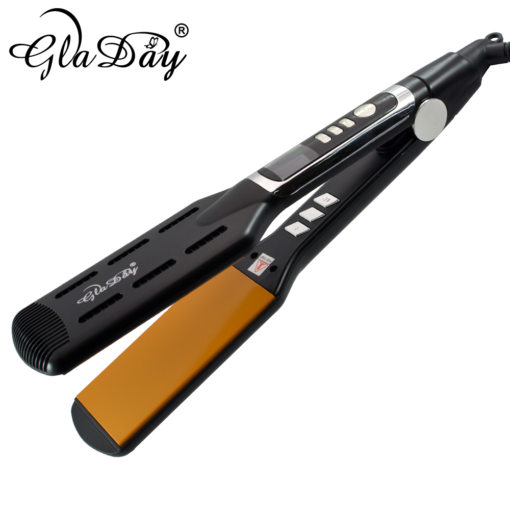 2018 New Arival Professional Ceramic Flat Iron Hair Straightener Styling Tools With MCH Fast Heat Up To 230 Degree in Straightening Irons from Home Appliances