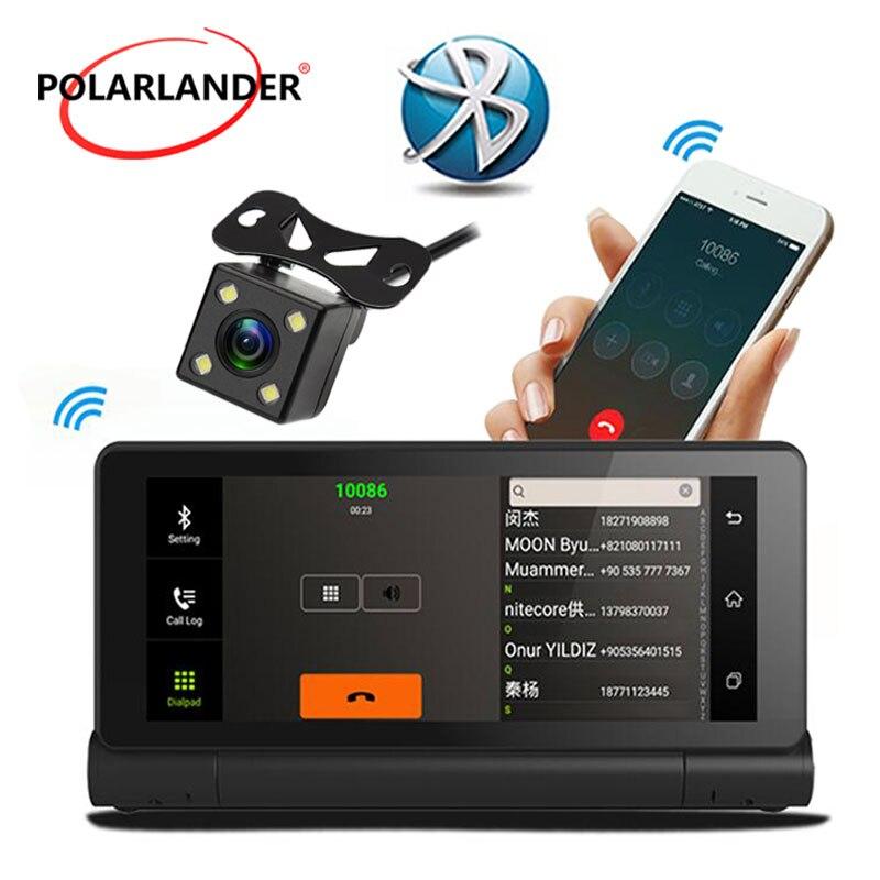 AVIN 1280*480 4 LED 3G 1080P Recorder Bluetooth WIFI Android 5.0 Dual Camera CAR GPS DVR Center Console Navigator