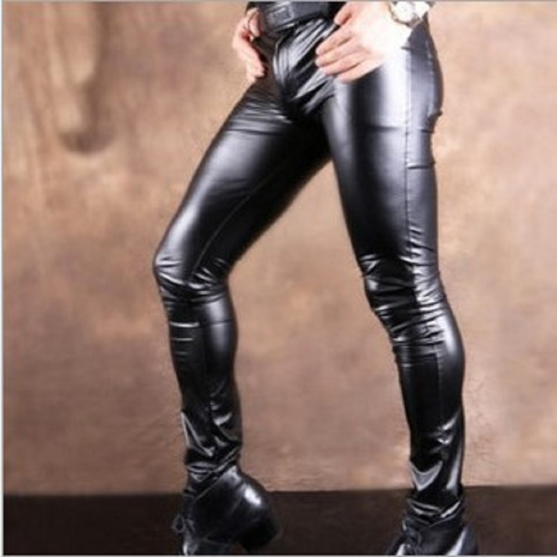 Casual Leather Pants  1