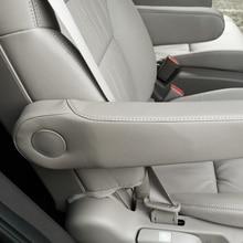 Car Interior Seat Armrest Handle Microfiber Leather Cover Trim For Honda Odyssey 2015 2016 2017