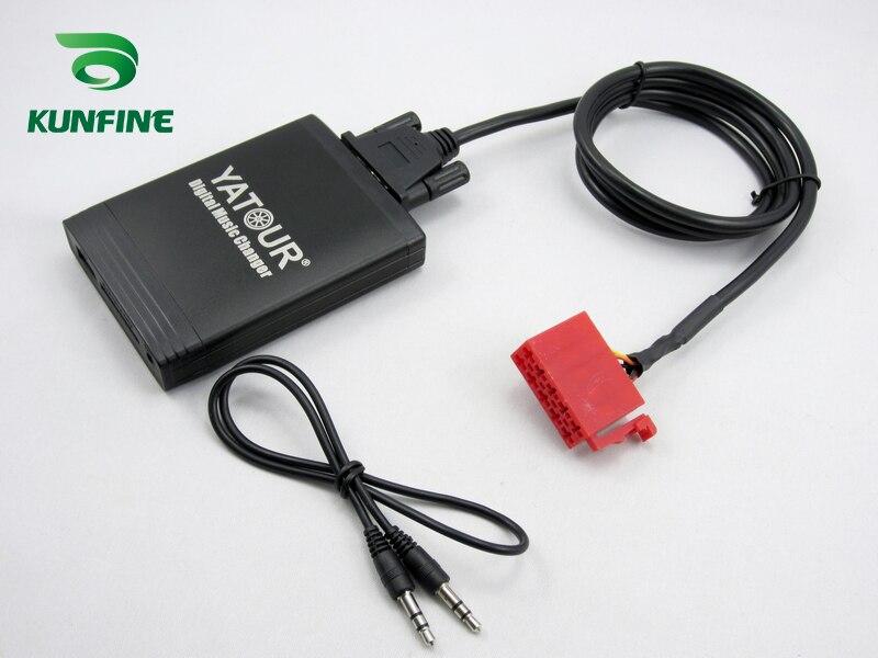 Автомобильный адаптер YATOUR AUX MP3 SD USB, музыкальный разъем для CD чейнджера, CDC для OPEL Vauxhall ANTARA Astra H J Radio - 4
