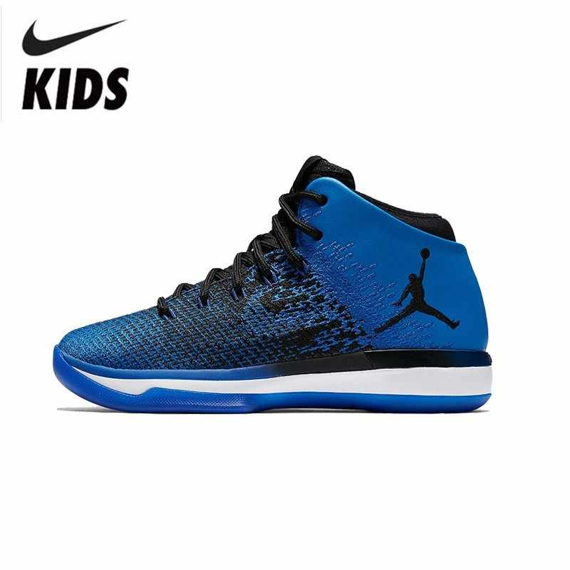 5bf143a486c Nike Air Jordan AJ31 Original New Arrival Children s Shoes Autumn And  Winter Motion Wear-resisting