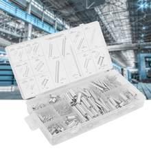Sprężyna skrętowa 200 sztuk/zestaw 20 rozmiarów rozszerzenie napięcie sprężyna dociskowa asortyment zestaw sprężyn metalowych z pudełkiem Resortes