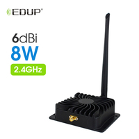 EDUP Wireless Wifi Power Booster Amplifiers for Wireless Router Signal Booster Repeater Broadband 2.4Ghz 8W EP AB003