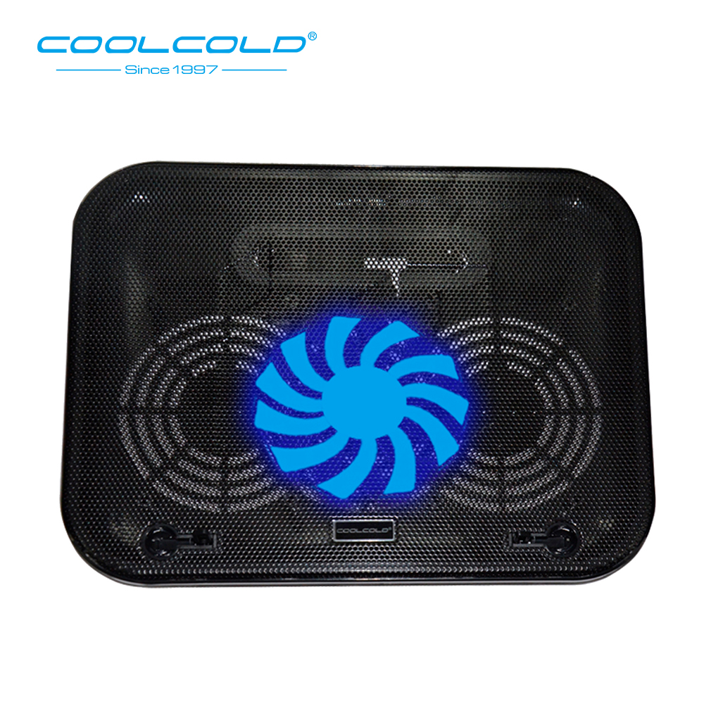 COOLCOLD Super Ultra-thin Laptop Cooler Cooling Pad USB Fan Stand 11'' 15.6'' Notebook Cooling Stand 5V Cooler Para Notebook