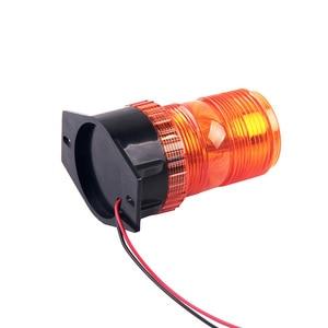 Image 4 - Bogrand ביקון אזהרת אור גמיש Led מהבהב משואה עבור רכב אמבר מגדלור Strobe 24 v אזהרת אור תנועה
