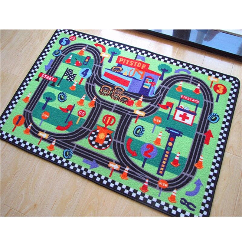 Tapis de jeu bébé trafic voiture de ville ramper tapis jeu Gym Pad pour tapis pour enfants jouer maison jouet sol doux enfants tapis 80x120 cm