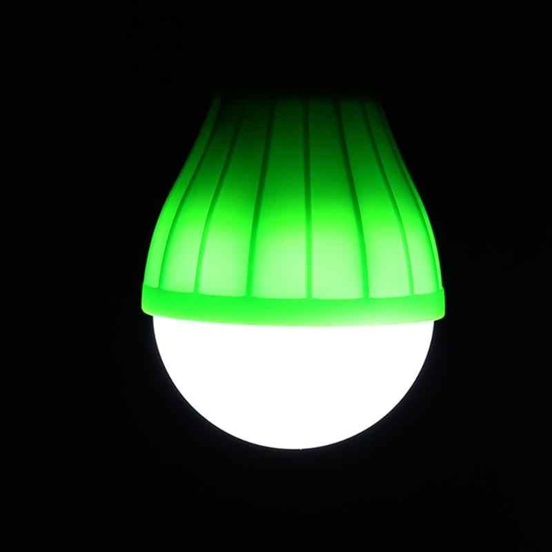 Mini Portable LED Light 3 LEDs 800LM Hanging Adventure Emergency Lanters Lamp Bulb Light Outdoor Camping Tent Accessories