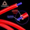 Trianglelab 3,1X6 мм Высокое качество настройки PTFE трубки тефлонто hotend Боуден экструдер 2,85/3,0 мм нити трубки QR экструдер