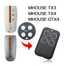 MHOUSE TX3 TX4 GTX4 שלט רחוק שער שלט רחוק MHOUSE מוסך דלת שלט רחוק 433MHz