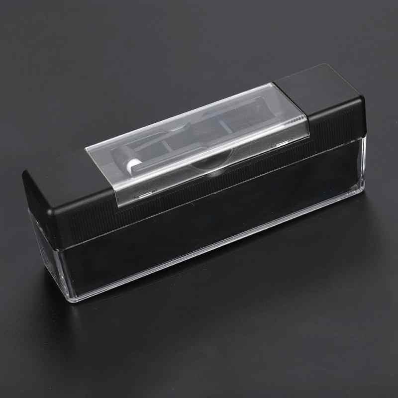 Антистатическая виниловая Чистящая Щетка для удаления пыли для винилового проигрывателя с маленькими щетками