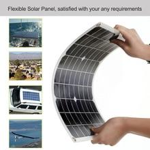 10 Вт 18 в Гибкая солнечная панель батарея Двойной выход солнечной энергии с интерфейсом USB высокая скорость преобразования солнечной панели системы