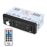Универсальный Автомобильный MP3-плеер FM радио mp3 аудио плеер Поддержка USB SD с дистанционным Управление 1 DIN Автомобильный мультимедийный плее...