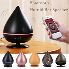 Humidifier bluetooth Speaker For Study Yoga Spa Office Bedroom Multifunctional USB Charge Air Purifier With Colorful Lamp(China)