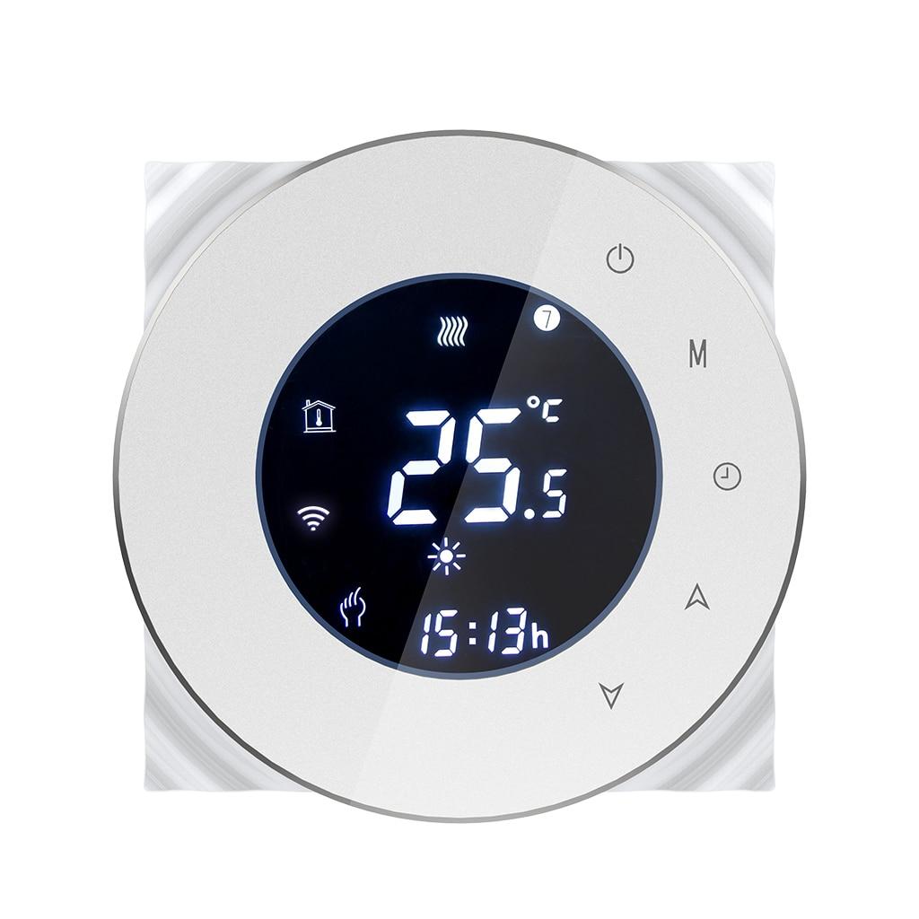 Bht-6000Gblw 16A Wifi Thermostat de chauffage électrique Thermostat de chauffage par le sol régulateur de température ambiante Programmable