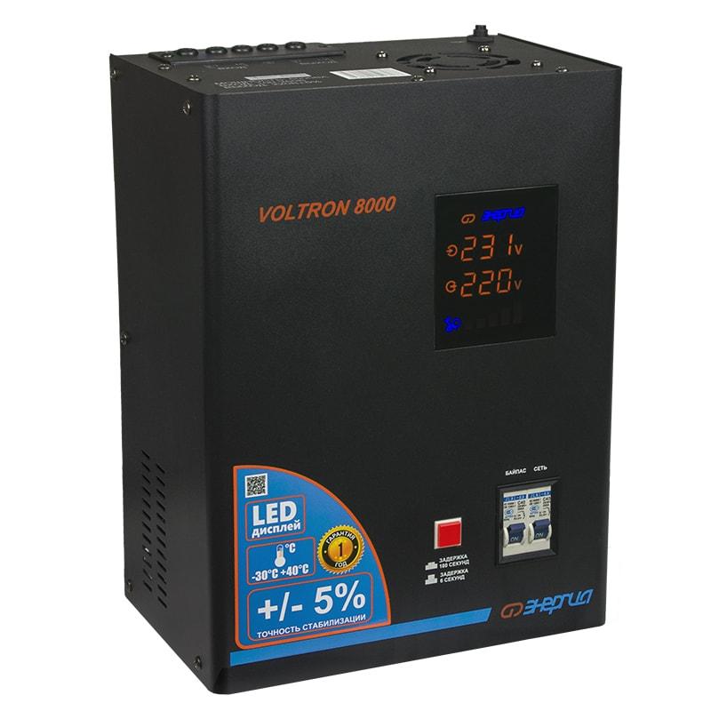 Voltage stabilizer Energy VOLTRON-8000