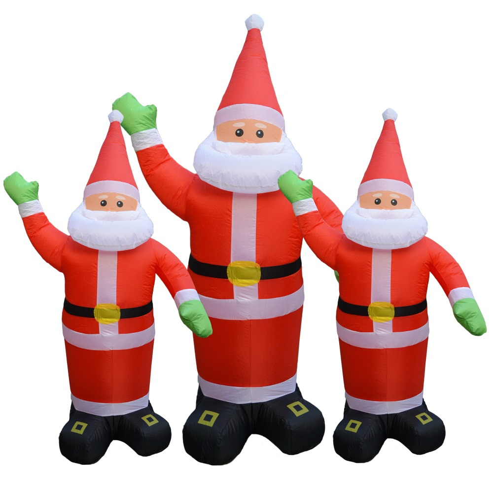Father Christmas120cm Christmas decration Large Inflatable Santa Clause