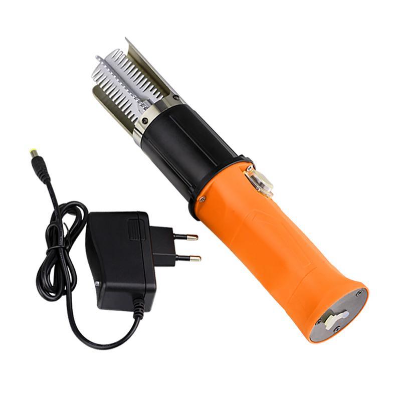 Escalador de pescado eléctrico escalador de pesca recargable 12 V batería de litio raspador de acero inoxidable escalador eléctrico (con baterías)