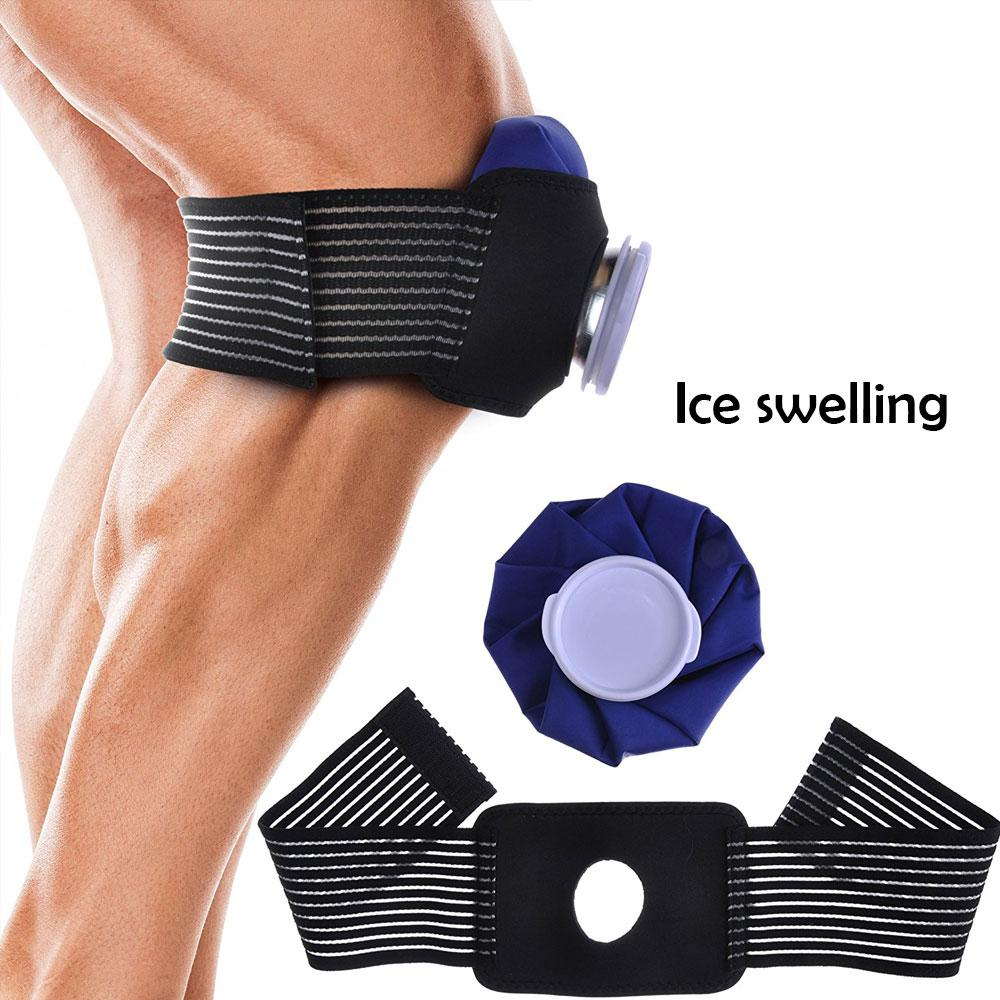 9 Inch Ice Bag Cold Pack For Injuries Neck Knee Pain Relief Therapy With Strap Protective Gear Reduce Fever Relieve Toothache image