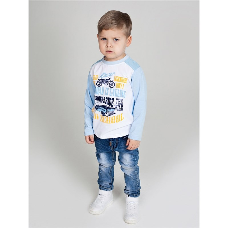 [Available with 10.11] denim pants for boys bleached ripped pockets denim pants
