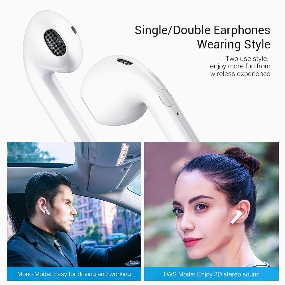 CASEIER I9S TWS Mini Bluetooth Earphones Cascos Inalambrico Bluetooth Wireless Bluetooth Earphone oordopjes Auriculares in Bluetooth Earphones Headphones from Consumer Electronics