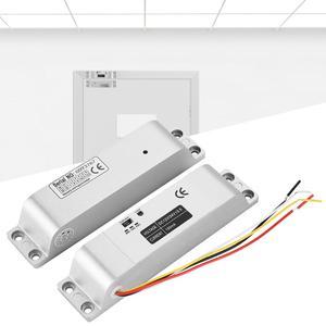 Image 3 - DC12V 1000KG חשמלי זרוק דלת מנעול מגנטי אינדוקציה שער הגישה כניסת בקרת שער נעילת 0s/3s/6s עיכוב פונקציה