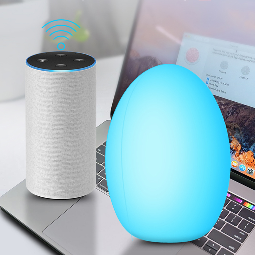 WiFi Smart Bulb Travel Waterproof Touch Control Color Changing Timing RGB Dimmable Bulb Night Light For Alexa and Google Home