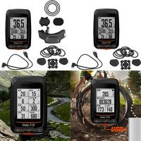 Durable Waterproof GPS Bike Computer Speedometer Bicycle 13 Languages IPX7 Digital Stopwatch 36H 300 Hours