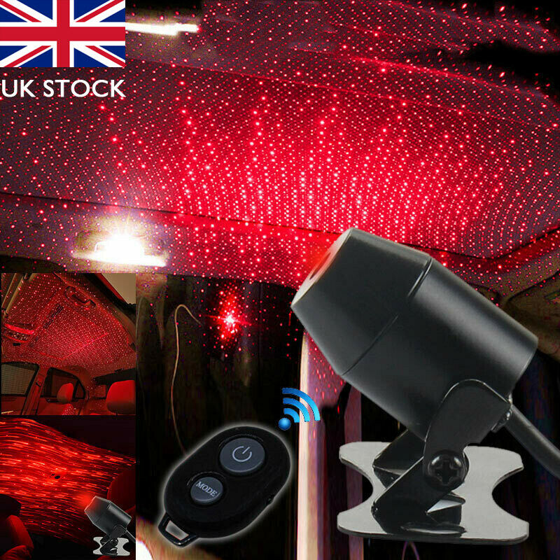 USB Red LED Projector Star Light Car Interior Atmosphere Meteor Lamp Home PartyUSB Red LED Projector Star Light Car Interior Atmosphere Meteor Lamp Home Party