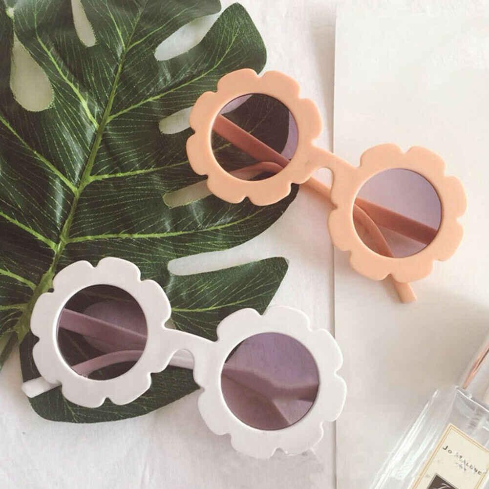 2019 ילדי אביזרי יפה הגנת משקפיים פעוטות בני ילדים גוונים פרחים מקסים משקפי שמש ילדים מתנה סיטונאי