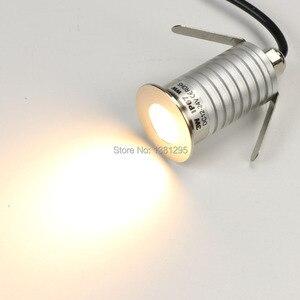 Image 5 - 3W IP67 עמיד למים CREE LED חיצוני קרקע גן נתיב סיפון רצפת מחתרת נקבר מנורת Inground Uplight שקוע ספוט אור