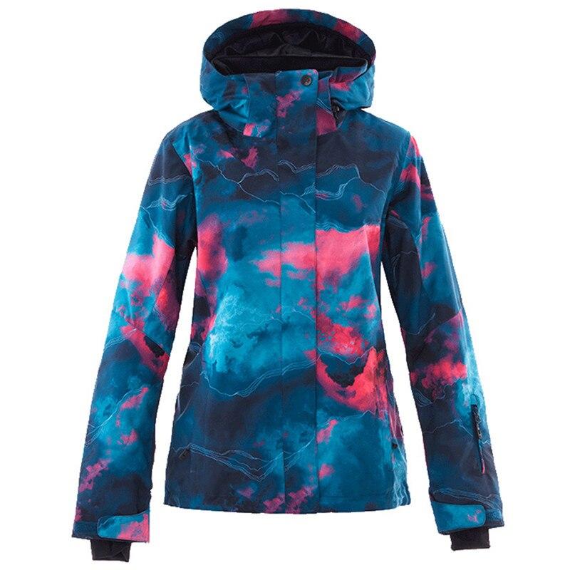 Veste de Ski Simaining veste de Snowboard femme imperméable veste de neige Ski Sportswear respirant Super chaud hiver costume de Ski manteaux