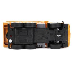 Image 4 - HUINA 332 1:16 Four Wheel Drive RC Dump Truck  Load 1kg children rc  Plastic Truck car toy