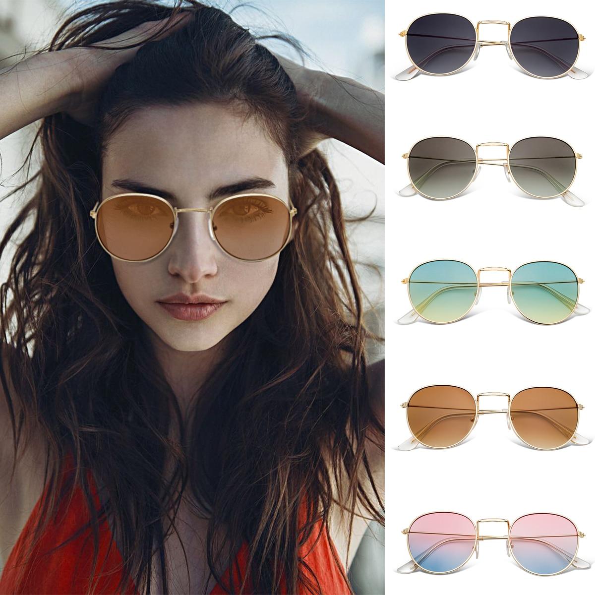 f17f60aaa7 Detail Feedback Questions about WISH CLUB Round Sunglasses For Women  Fashion Retro Sun Glasses Female Eyeglasses Unisex Men gafas de sol UV400  High Quality ...
