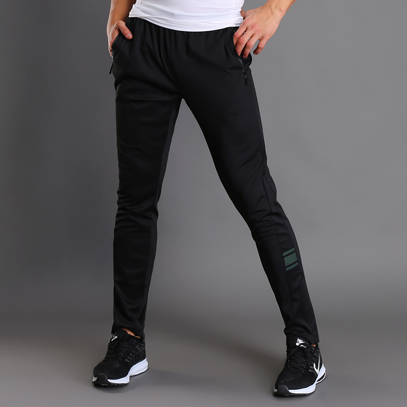 Training Pants Active Football Trousers Sports' Wear Track Pants Fitness Leggings Black Sport Pants Men
