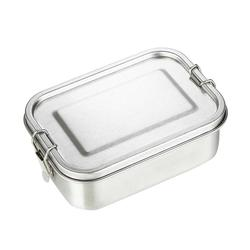 304 נירוסטה קופסא ארוחת הצהריים שכבה אחת למבוגרים הצהריים מיכל אטום Leakproof מלבני ланч бокс 800ml