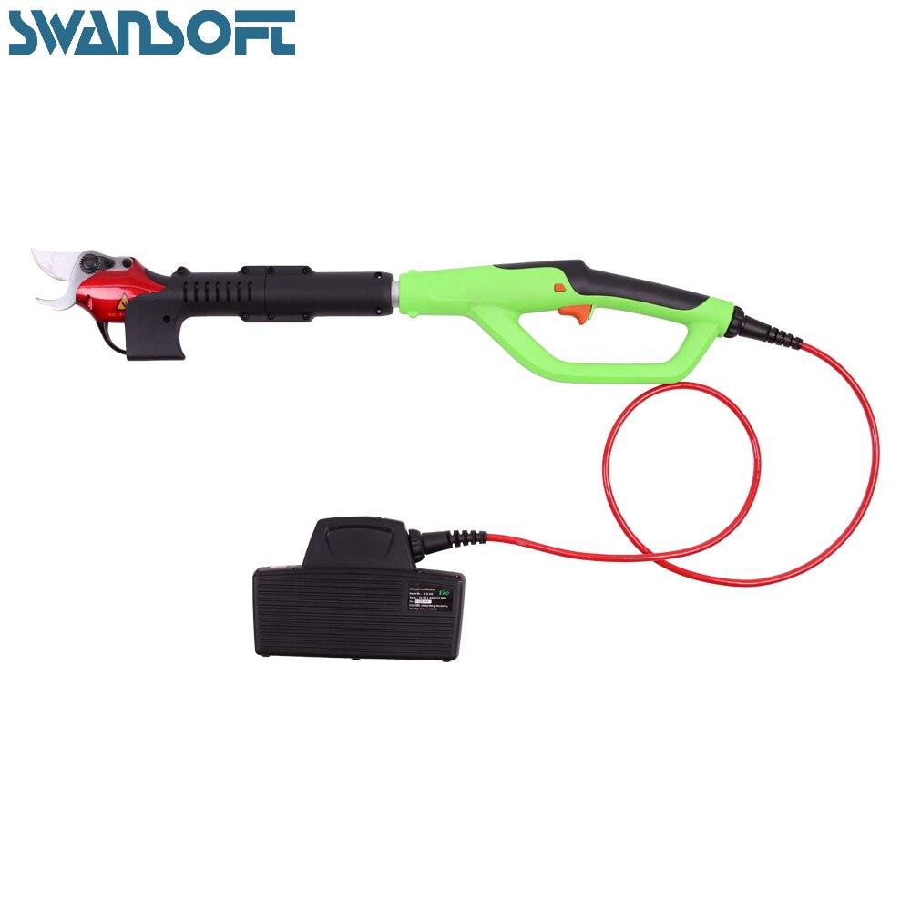 Садоводческий литиевый аккумулятор Электрический секатор выдвижная ручка многоцелевой садовый инструмент