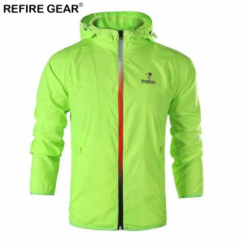 Refire Gear Spring Summer Outdoor Jackets Outerwear Windbreaker Men Thin Jackets Hooded Casual Sporting Fashion Coat Big Size Lahore