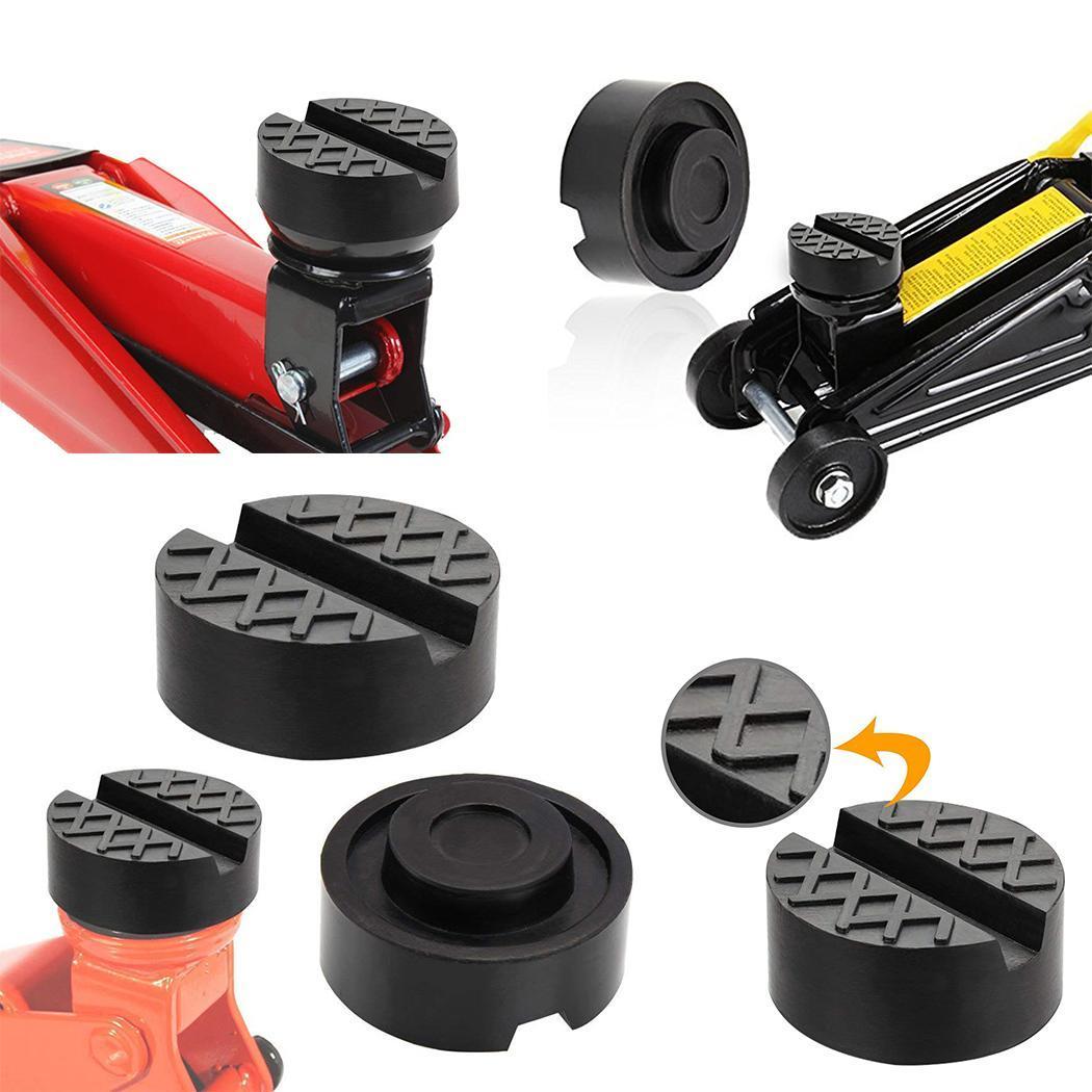 Durable Universal 4 Ton Car Jack Rubber Pad Car Jack Support Block Enhanced Type Auto Jack Rubber Pad Car repair tools