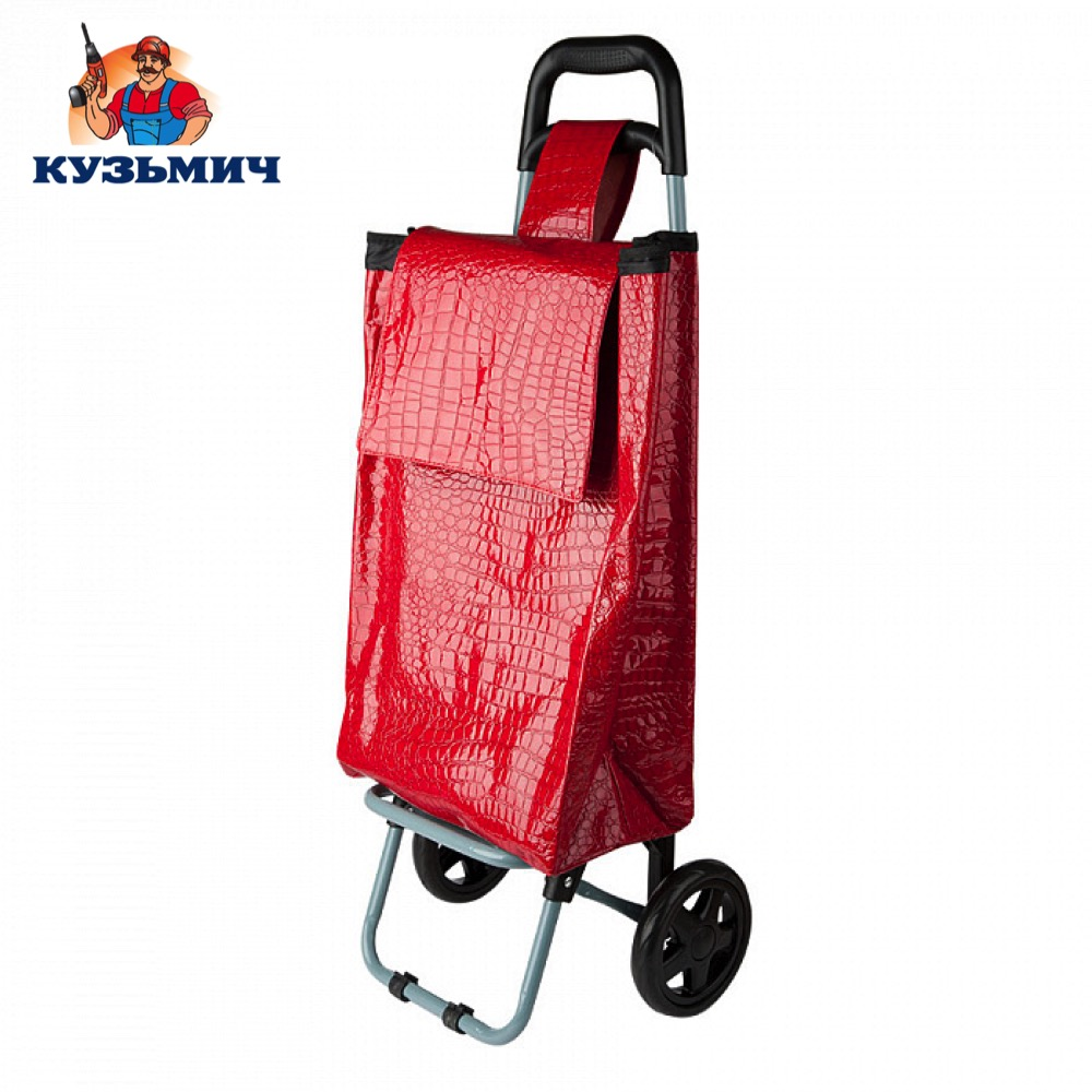Фото - Travel Bags Kuzmich Р0001003533 Trolley luggage D-T125 for men and women сonvenient easy moving cargo bag pushcart handcart dtbg spring design men s bag messenger bags high quality waterproof shoulder tablet pc sleeve bag