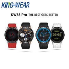 KINGWEAR KW88 Pro 3G Smartwatch Phone 1.39 inch Android 7.0 MTK6580 Quad Core 1.3GHz 1GB RAM 16GB ROM Smart Watch GPS Wearable(China)