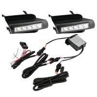 Тюнинг автомобилей 1 пара автомобилей дневного света светодиодные дневные ходовые огни для Toyota Prado 120 LC120 GRJ120 02 09 салона Свет