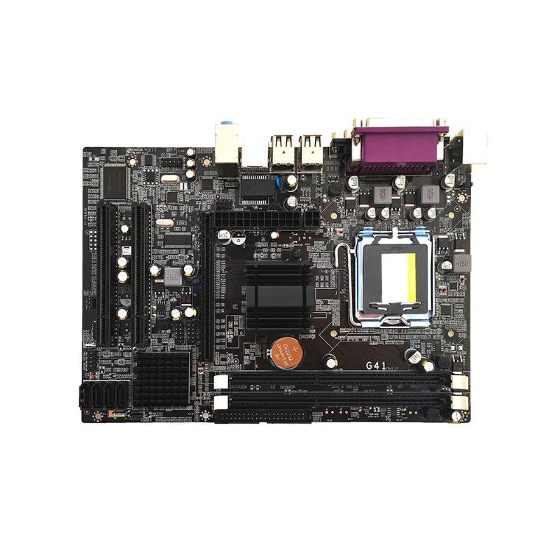 G41 PC Computer Desktop Motherboard LGA771 Support DDR3 Quad Core Dual Core Dual PCI Solid Capacitor Mainboard for Xeon 771 NewG41 PC Computer Desktop Motherboard LGA771 Support DDR3 Quad Core Dual Core Dual PCI Solid Capacitor Mainboard for Xeon 771 New