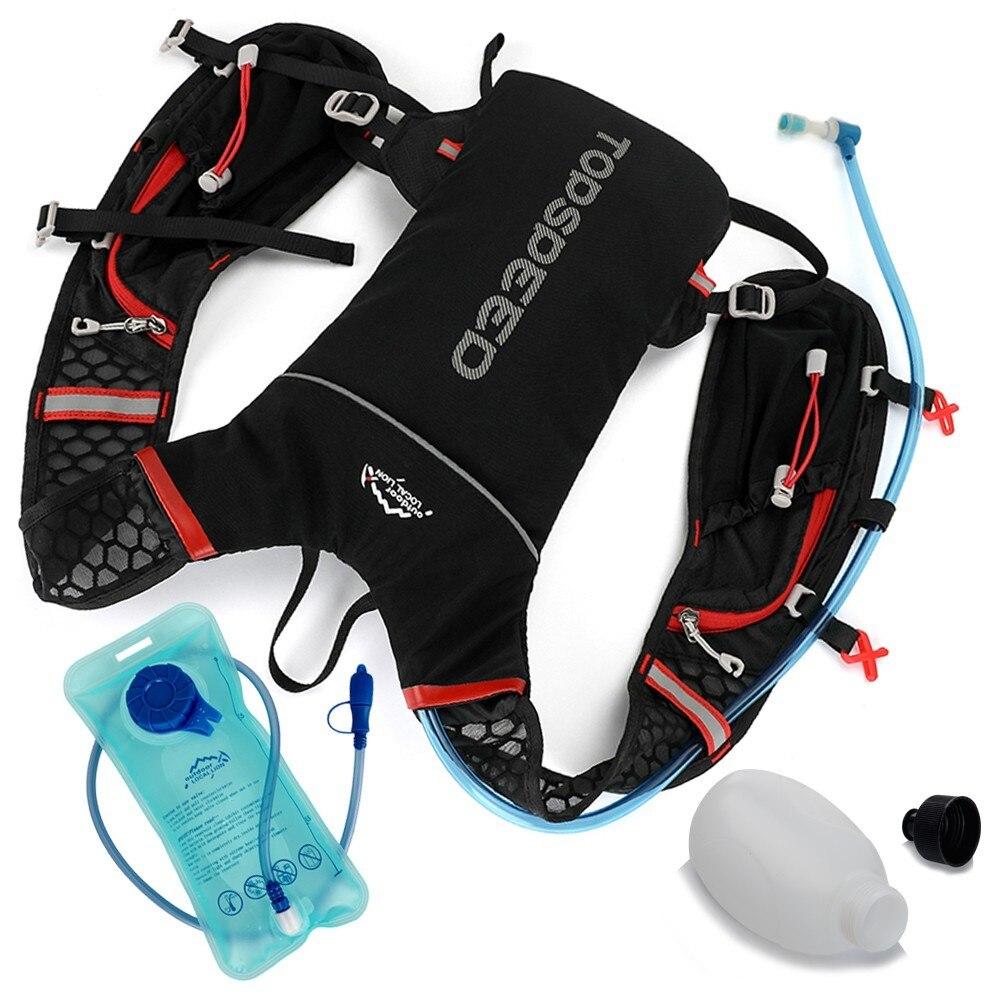 Man Woman Bicycle Backpack Hydration Trail Running Vest Marathon Water Bag Jogging Cycling Rucksack Bike Back Pack Water Bottle