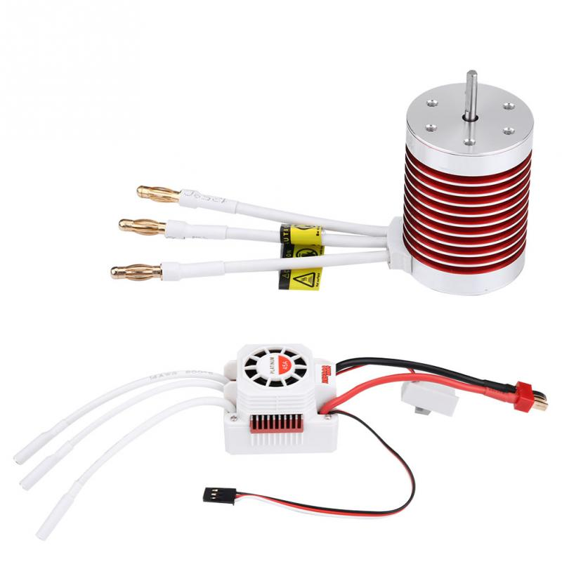 New F540 3930KV Brushless Motor With 45A Brushless ESC For 1 10 1 12 Remote Control