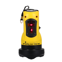 construction tools 2 Lines Cross Laser Level 360 Rotary Cross Line Leveling level measuring instruments Vertical & Horizontal