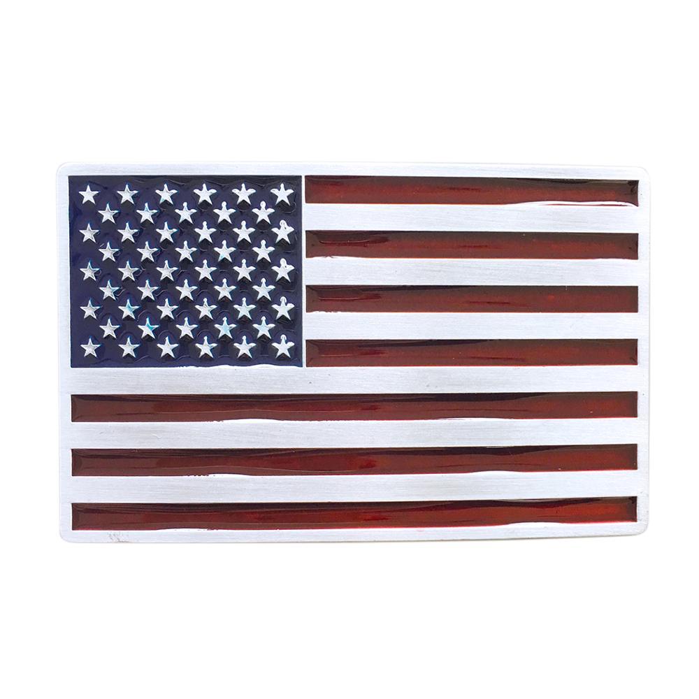 Men Belt Buckle New Vintage Enamel American US Flag Belt Buckle Gurtelschnalle Boucle De Ceinture BUCKLE-FG028 Free Shipping