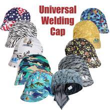 7 форм, эластичная сварочная шапка, поглощающие пот сварочные аппараты, сварочные защитные колпачки, огнестойкие колпачки с полной защитой ...