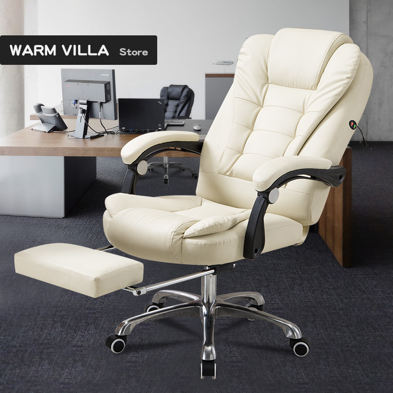 European Household Modern Concise Dawdler Boss Can Lie Backrest To Work In An Office Lift Rotating Chair