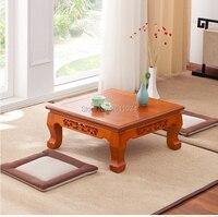 Eiche farbe Oriental Antike Möbel Design Japanischen Boden Tee Tisch Kleine Größe Wohnzimmer Holz Kaffee Tatami Niedrigen Tisch Holz